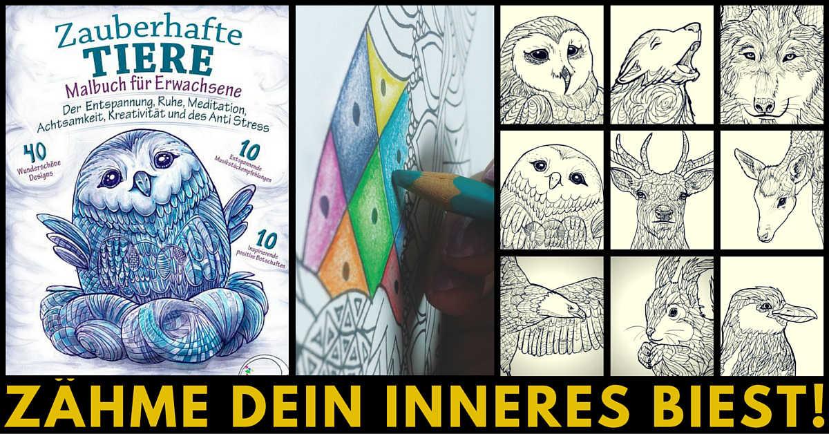 relaxation4.me - Anti-Stress Malbuch für Erwachsene - Zauberhafte ...