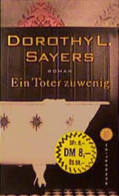 Buch 1 von 15 der Lord Peter Wimsey Reihe von Dorothy Leigh Sayers u.a..