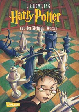 Teil 1 von 8 der Harry Potter Reihe von Joanne K. Rowling u.a..