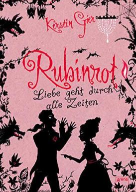 Teil 1 von 3 der Edelstein / Liebe geht durch alle Zeiten Reihe von Kerstin Gier.