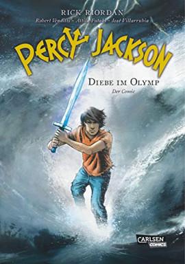 Teil 1 von 5 der Percy Jackson Graphic Novel Reihe von Rick Riordan.