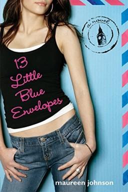 Buch 1 von 2 der Little Blue Envelope Reihe von Maureen Johnson.