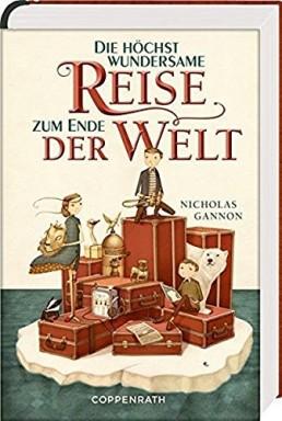 Buch 1 von 2 der Doldrums Reihe von Nicholas Gannon.