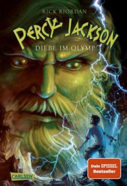 Teil 1 von 5 der Percy Jackson Reihe von Rick Riordan.