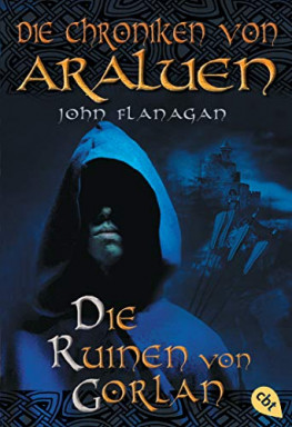 Teil 1 von 15 der Chroniken von Araluen Reihe von John Flanagan.