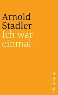 Buch 1 von 3 der Autobiographische Trilogie Reihe von Arnold Stadler.