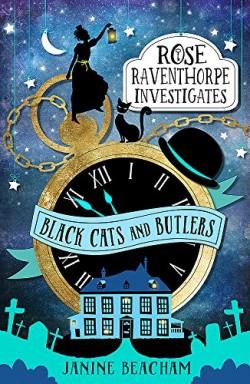 Buch 1 von 3 der Rose Raventhorpe Investigates Reihe von Janine Beacham.