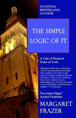 Teil 1 von 3 der Bishop Pecock Tales Reihe von Margaret Frazer.