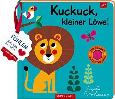 Buch 1 von 10 der Kuckuck, mein Filz Fühlbuch Reihe von Ingela Arrhenius.