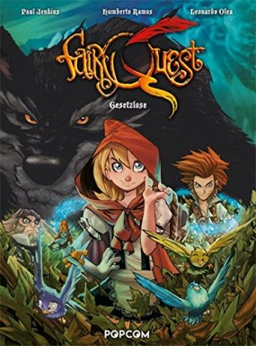 Band 1 von 2 der Fairy Quest Reihe von Paul Jenkins.