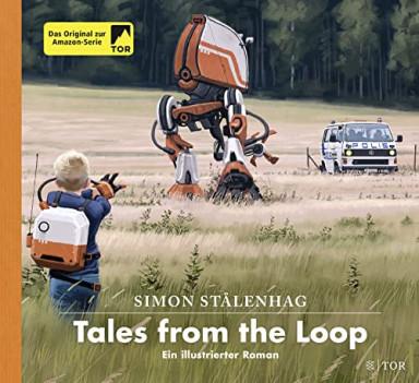 Buch 1 von 2 der Das Loop Universum Reihe von Simon Stålenhag.