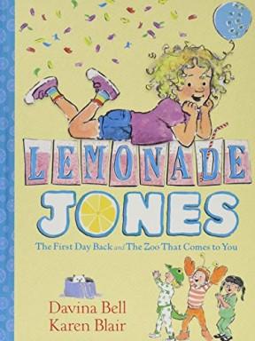 Buch 1 von 2 der Lemonade Jones Reihe von Davina Bell.