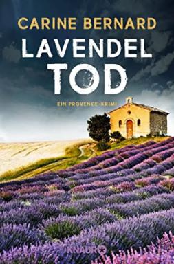 Buch 1 von 3 der Lavendel Morde Reihe von Carine Bernard.
