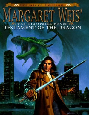 Buch 1 von 2 der Dragon's Disciple Reihe von Margaret Weis u.a..