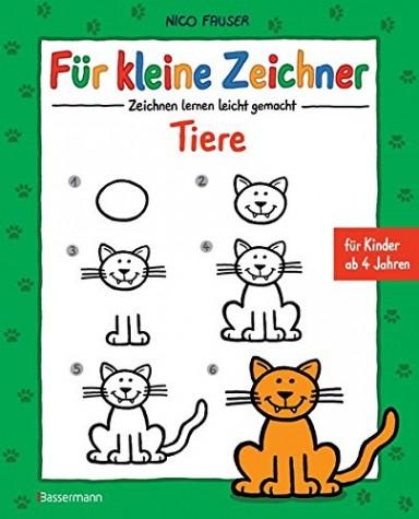 Buch 1 von 7 der Für kleine Zeichner Reihe von Nico Fauser.