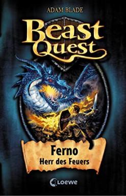 Band 1 von 130 der Beast Quest Reihe von Adam Blade.