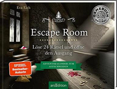 Teil 1 von 5 der Escape Room Reihe von Eva Eich.