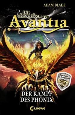 Band 1 von 4 der Chroniken von Avantia Reihe von Adam Blade.
