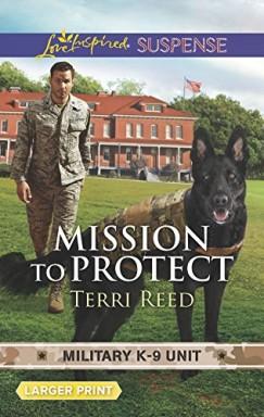Buch 1 von 9 der Military K-9 Unit Reihe von Terri Reed u.a..