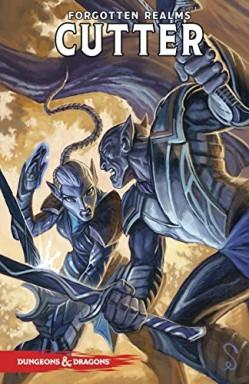 Buch 1 von 5 der Dungeons & Dragons: Cutter Reihe von R. A. Salvatore u.a..