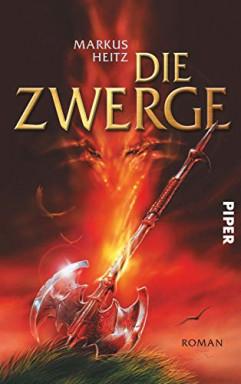 Buch 1 von 7 der Zwerge / Tungdil Goldhand Reihe von Markus Heitz.