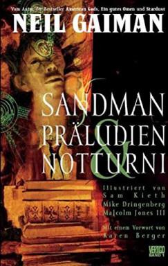 Band 1 von 13 der Sandman Reihe von Neil Gaiman u.a..