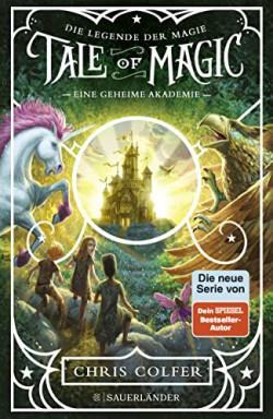 Buch 1 von 3 der Die Legende der Magie Reihe von Chris Colfer.