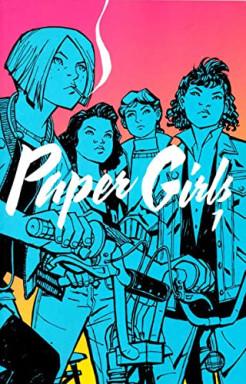 Teil 1 von 4 der Paper Girls Reihe von Brian K. Vaughan.