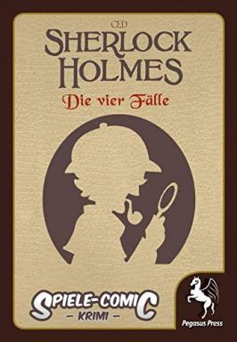 Buch 1 von 5 der Sherlock Holmes Reihe von Spiele-Comic.