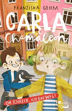 Buch 1 von 3 der Carla Chamäleon / Chamäleon Girl Reihe von Franziska Gehm.