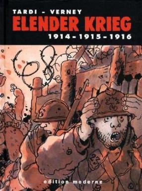 Buch 1 von 2 der Elender Krieg Reihe von Jacques Tardi u.a..