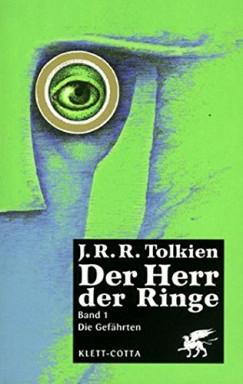 Band 1 von 3 der Herr der Ringe Reihe von J. R. R. Tolkien.