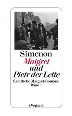 Teil 1 von 75 der Jules Maigret Reihe von Georges Simenon u.a..